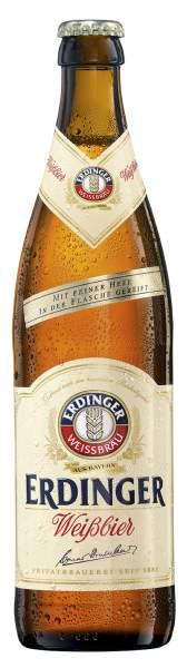 ERDINGER Weißbier 0,5 Liter Flasche