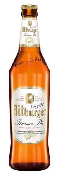 Bitburger Premium Pils 0,5 Liter