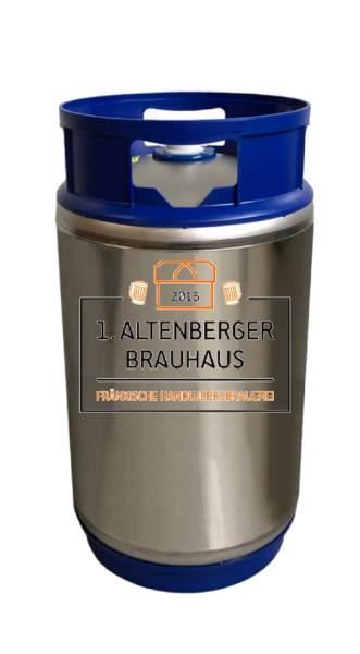 Altenberger Märzen im Bierfass