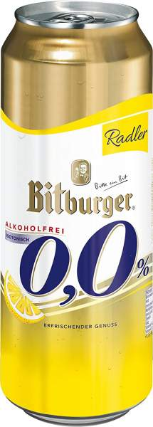 Bitburger Radler Alkoholfrei