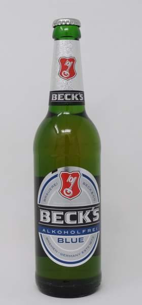 Becks Blue Alkoholfrei 0,5 L Flasche