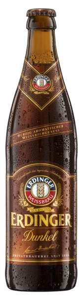 ERDINGER Weißbier Dunkel 0,5 Liter