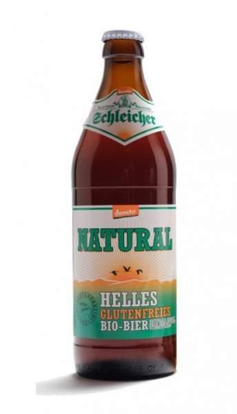 Schleicher NATURAL - glutenfreies Bier